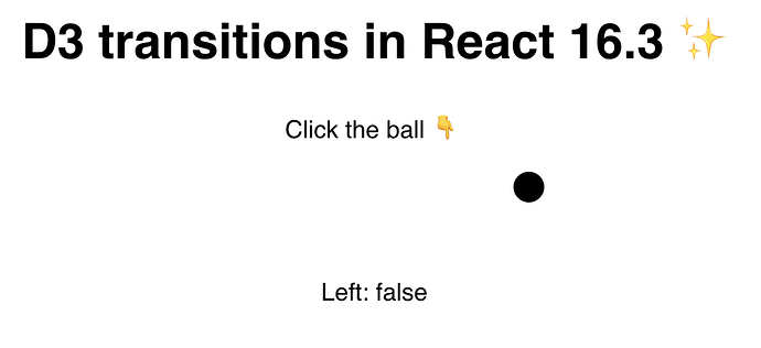 Ball on the right before you click