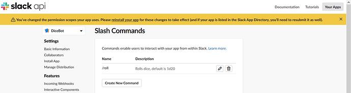 Slack Update Perms