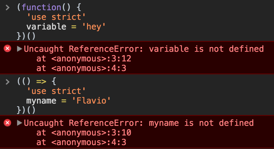 Variable not defined